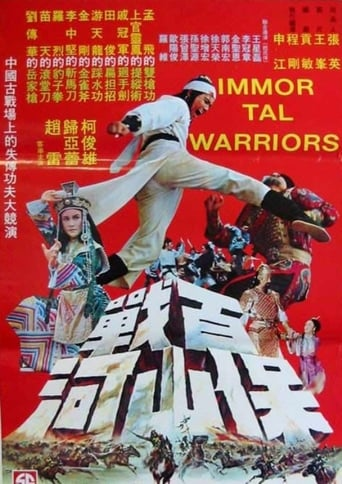 Poster of Immortal Warriors