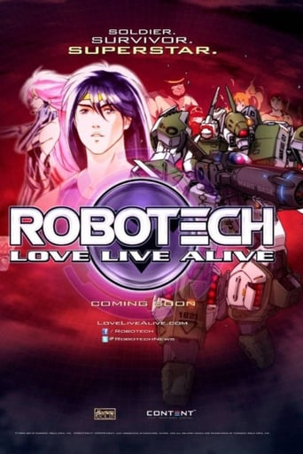 Poster of Robotech: Love Live Alive