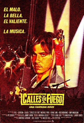 Poster of Calles de fuego