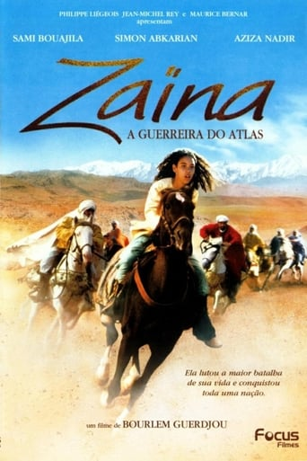 Poster of Zaina: Rider of the Atlas
