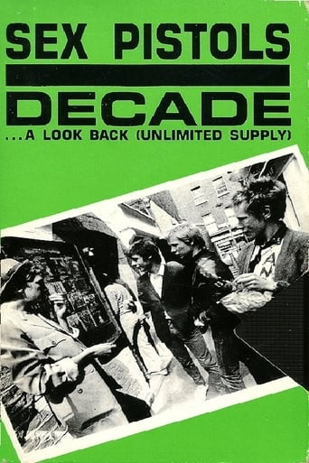 Poster of Sex Pistols: Decade... A Look Back (Unlimited Supply)