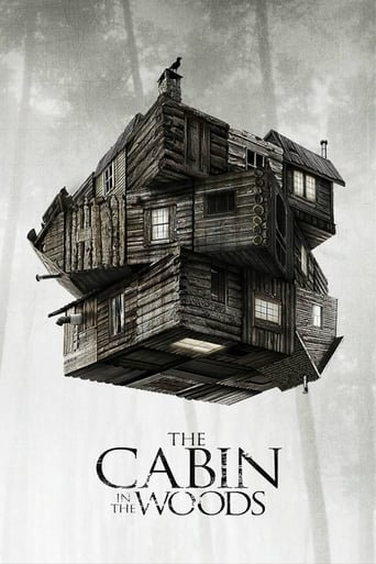 Filmplakat von The Cabin in the Woods