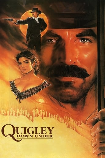 Poster of Quigley Down Under