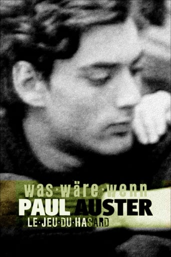 Paul Auster: A Game of Chance Movie Poster