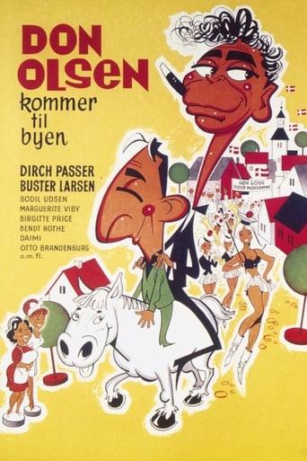 Poster of Don Olsen kommer til byen
