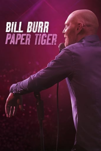 Poster of Bill Burr: Paper Tiger