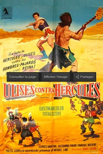 Poster of Ulysses Against the Son of Hercules