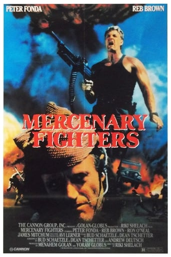 Mercenary Fighters Movie Poster