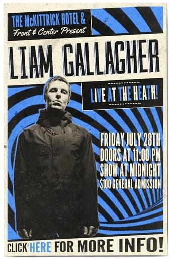 Poster of Liam Gallagher - McKittrick Hotel