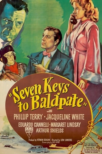 Poster of Seven Keys to Baldpate