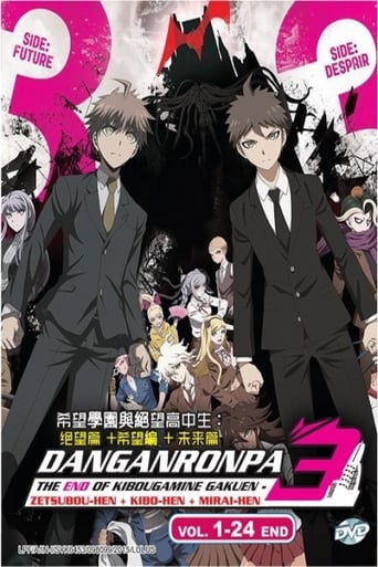 serie tv 2016 Danganronpa 3: The End of Hope's Peak High School