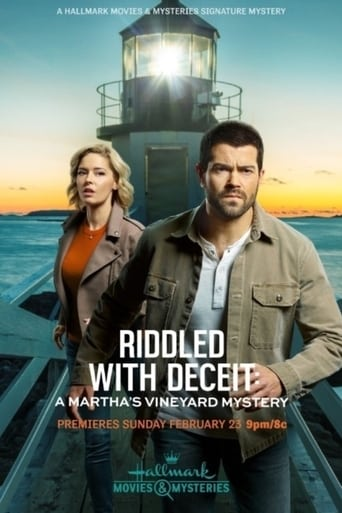Poster of Riddled with Deceit: A Martha's Vineyard Mystery