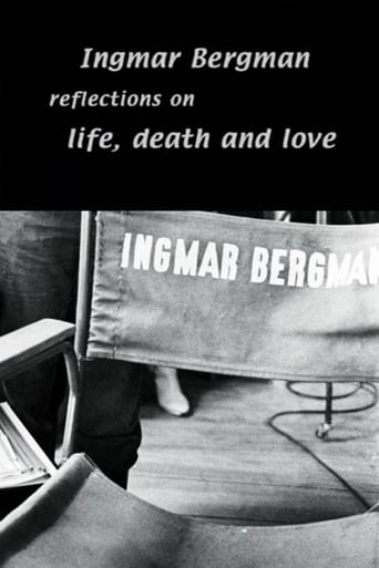 Poster of Ingmar Bergman: Reflections on Life, Death, and Love with Erland Josephson