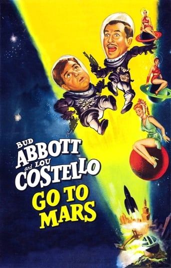 Poster of Abbott and Costello Go to Mars