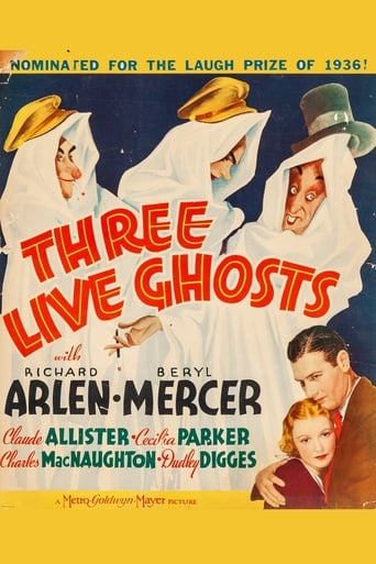 Poster of Three Live Ghosts