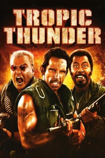 Official movie poster for Tropic Thunder (2008)