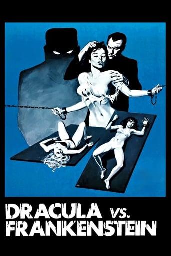 Poster of Dracula vs. Frankenstein