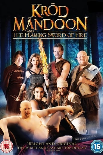 Poster of Krod Mandoon and the Flaming Sword of Fire
