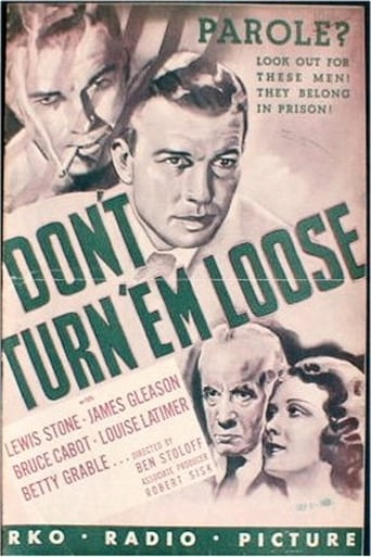 Poster of Don't Turn 'em Loose
