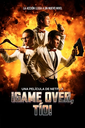 Poster of ¡Game Over, Tío!