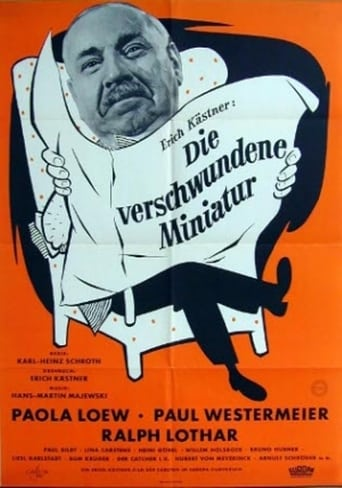 Poster of Die verschwundene Miniatur