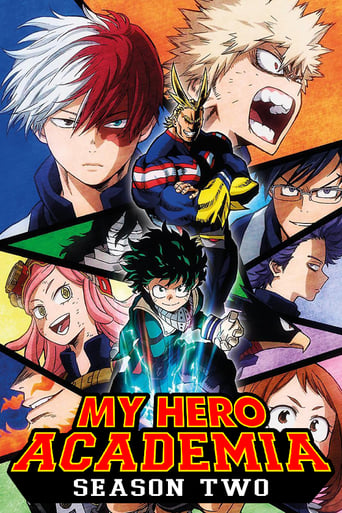 Boku no Hero Academia 2ª Temporada - Poster