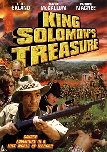 Poster of King Solomon's Treasure