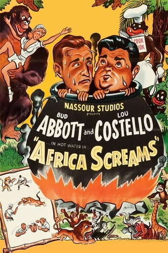 Poster of Africa Screams