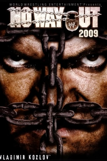 Poster of WWE No Way Out 2009
