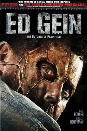 Poster of Ed Gein: The Butcher of Plainfield