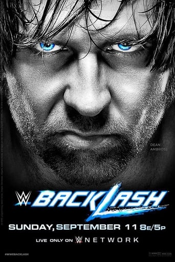 Poster of WWE Backlash 2016