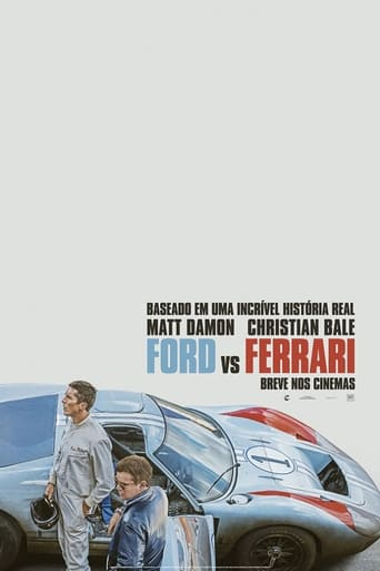Ford vs Ferrari - Poster