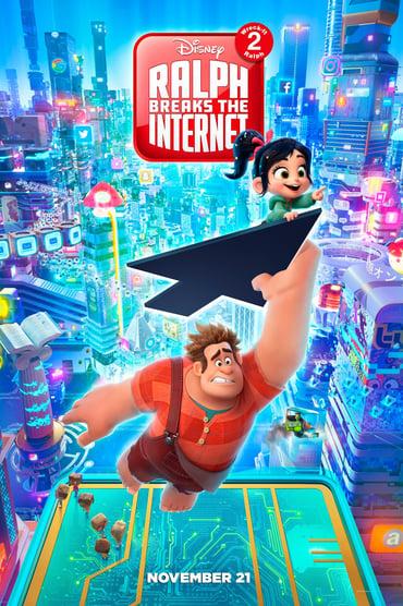 Ralph Breaks the Internet poster photo