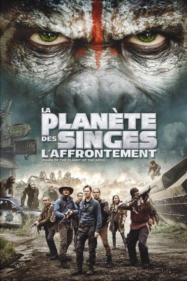 La Planète des singes : l'affrontement Film Streaming