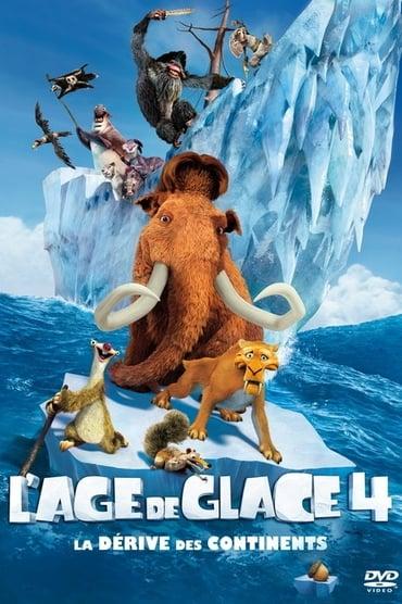 L'Âge de glace 4 : La Dérive des Continents Film Streaming