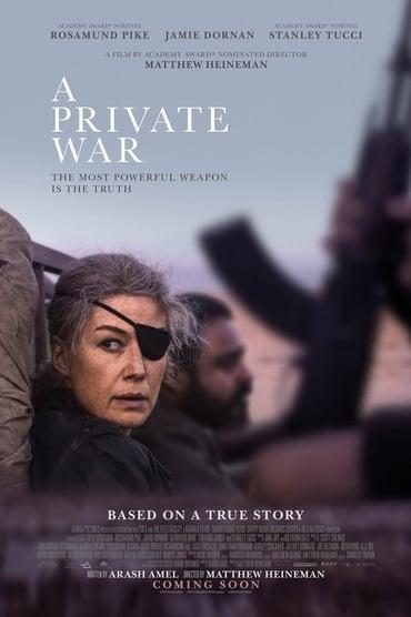 A Private War Film Streaming