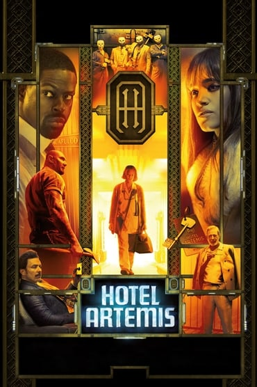 Hotel Artemis poster photo
