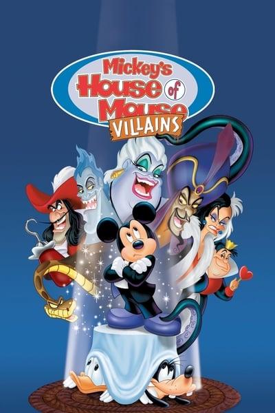 Mickey'nin Kötüler Evi . / Kotulerin Evi Mickey Farenin Evi ./ Mickey's House of Villains