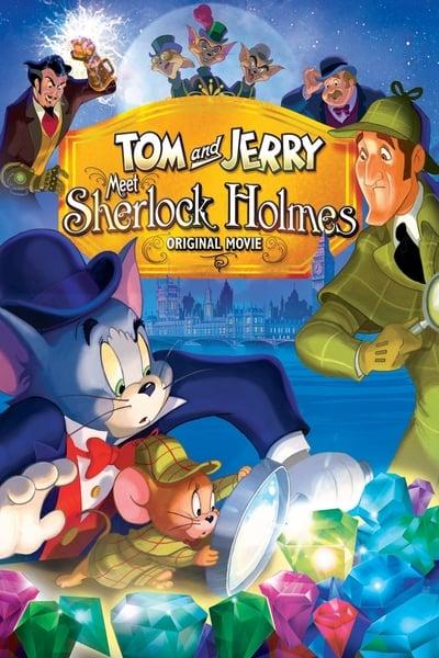 Tom ve Jerry Sherlock Holmes'le Tanışıyor