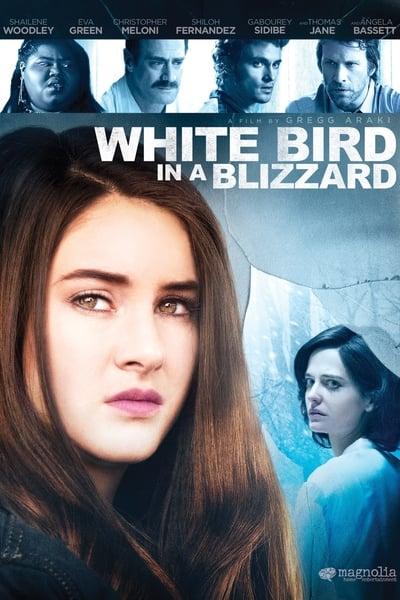 Karda Bir Beyaz Kuş