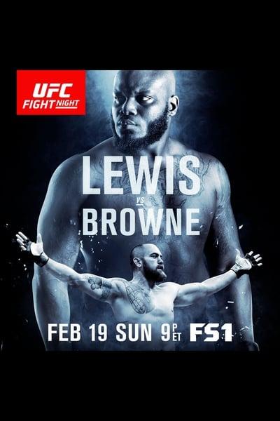 UFC Fight Night 105: Lewis vs. Browne