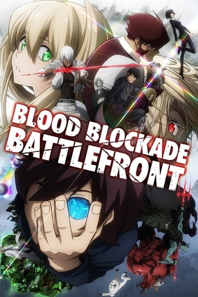 Blood Blockade Battlefront TV Show Poster