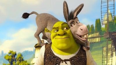 Шрек - кадр из мультфильма