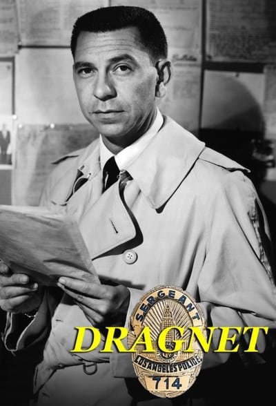 Dragnet TV Show Poster
