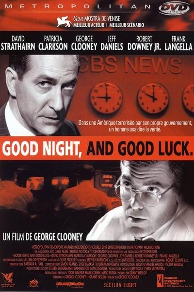 Regarder Good Night And Good Luck 2005 Film Complet En Ligne