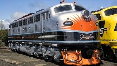 Discovery. Железная дорога Австралии