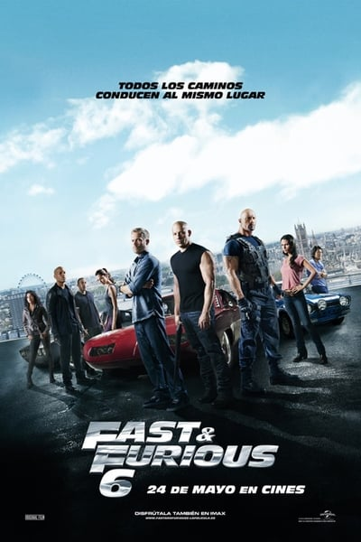 Rápidos y furiosos 6 (Fast & Furious 6)  (2013)