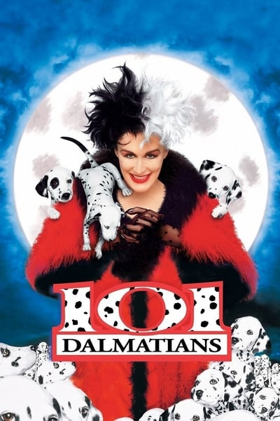 101 Dalmatians 1996 BRRip 720p Dual Audio In Hindi
