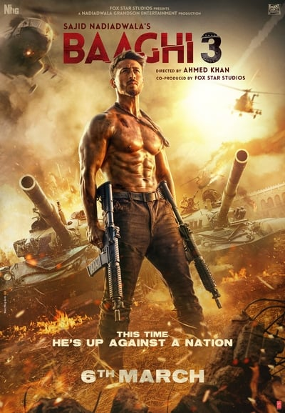 Baaghi 3 2020 720p 480p In Hd Full Hindi Movie Download