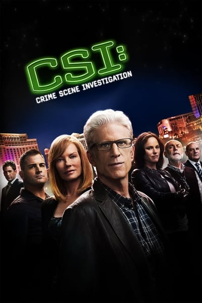 CSI: Crime Scene Investigation TV Show Poster